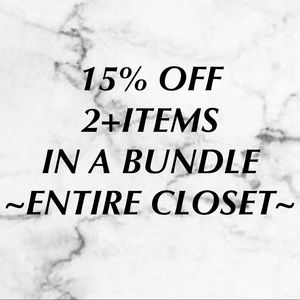 Other - Bundle 2 or more items and save!